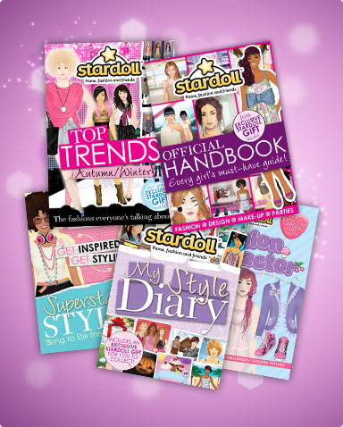 Stardoll Books - Now available in the UK!