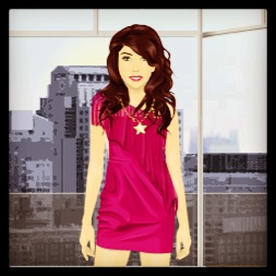 Get up close and personal with Stardoll!